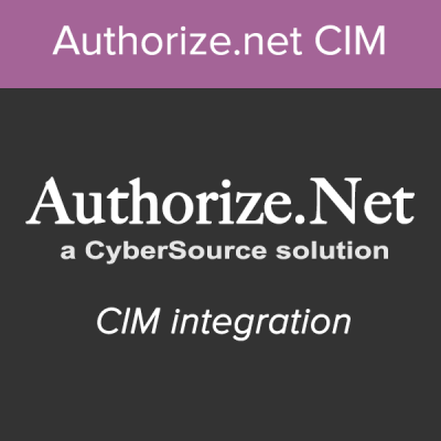 AuthorizeNet CIM