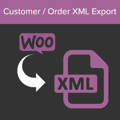 WooCommerce Customer / Order XML Export
