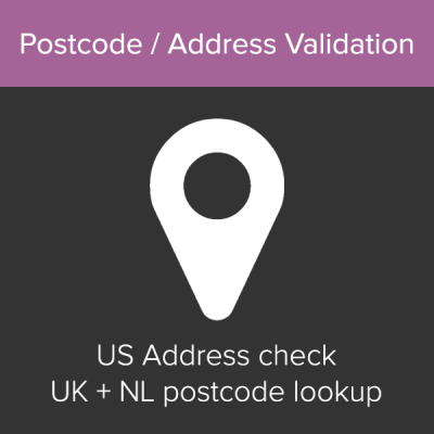 WooCommerce Postcode / Address Validation