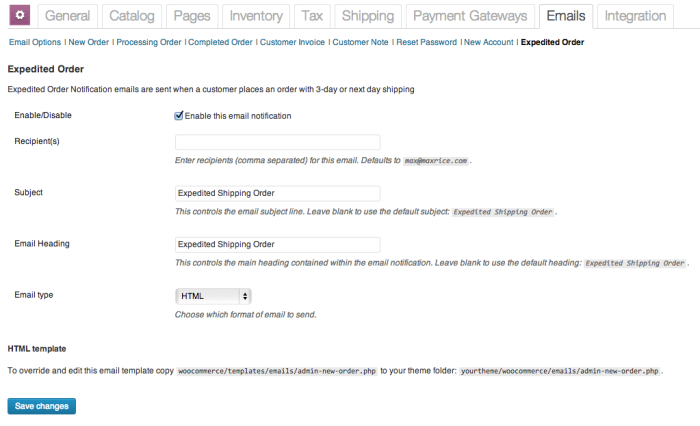 woocommerce-expedited-order-email-settings