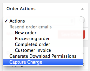 WooCommerce Authorize.Net SIM Capture Charges