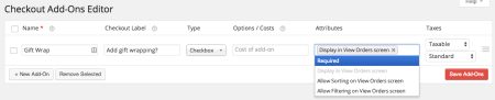 WooCommerce Checkout Addons | Adding a checkout field
