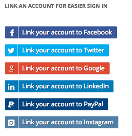 WooCommerce social login buttons