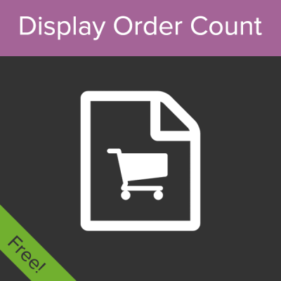 WooCommerce Display Order Count