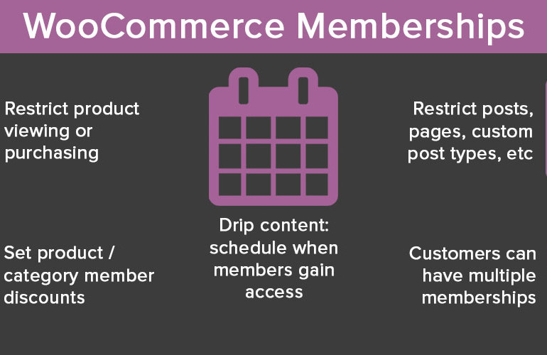 WooCommerce Memberships released