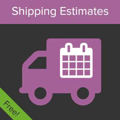 WooCommerce shipping estimates