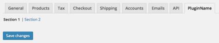 WooCommerce Add plugin settings tab