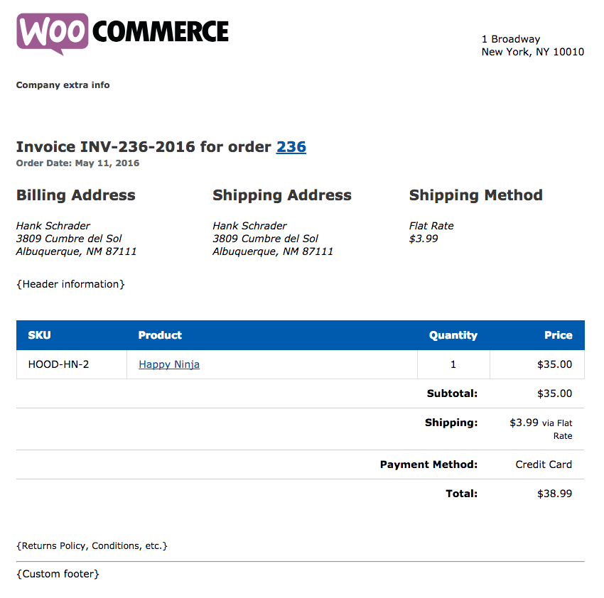 Modifying Print Invoices And Packing Lists Templates - Skyverge