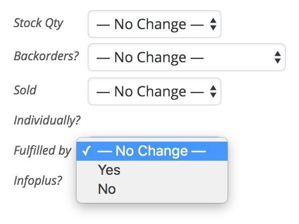 WooCommerce Infoplus Product Bulk Action