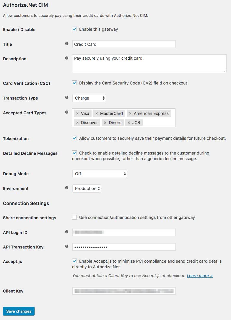 Authorize Net Authorization Codes