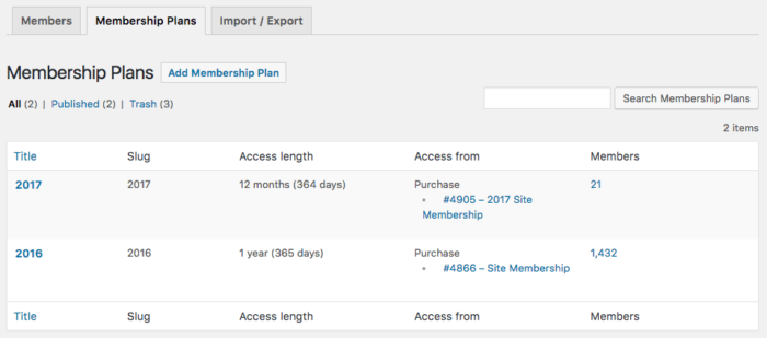 WooCommerce Memberships: Fixed Date Plans