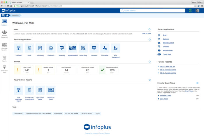 Infoplus Connect for WooCommerce Dashboard