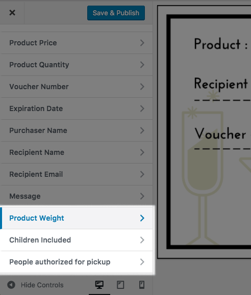 WooCommerce PDF Product Vouchers: Custom field added